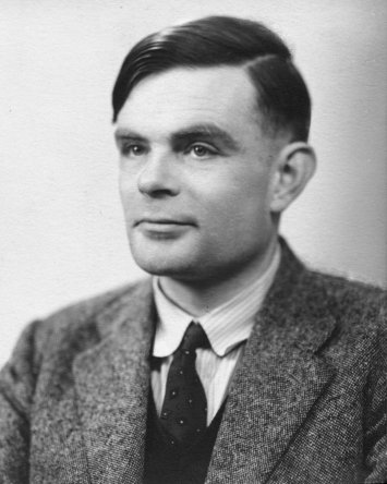 Fotografía de Alan Turing. © National Portrait Gallery, London. Tomada bajo uso razonable.